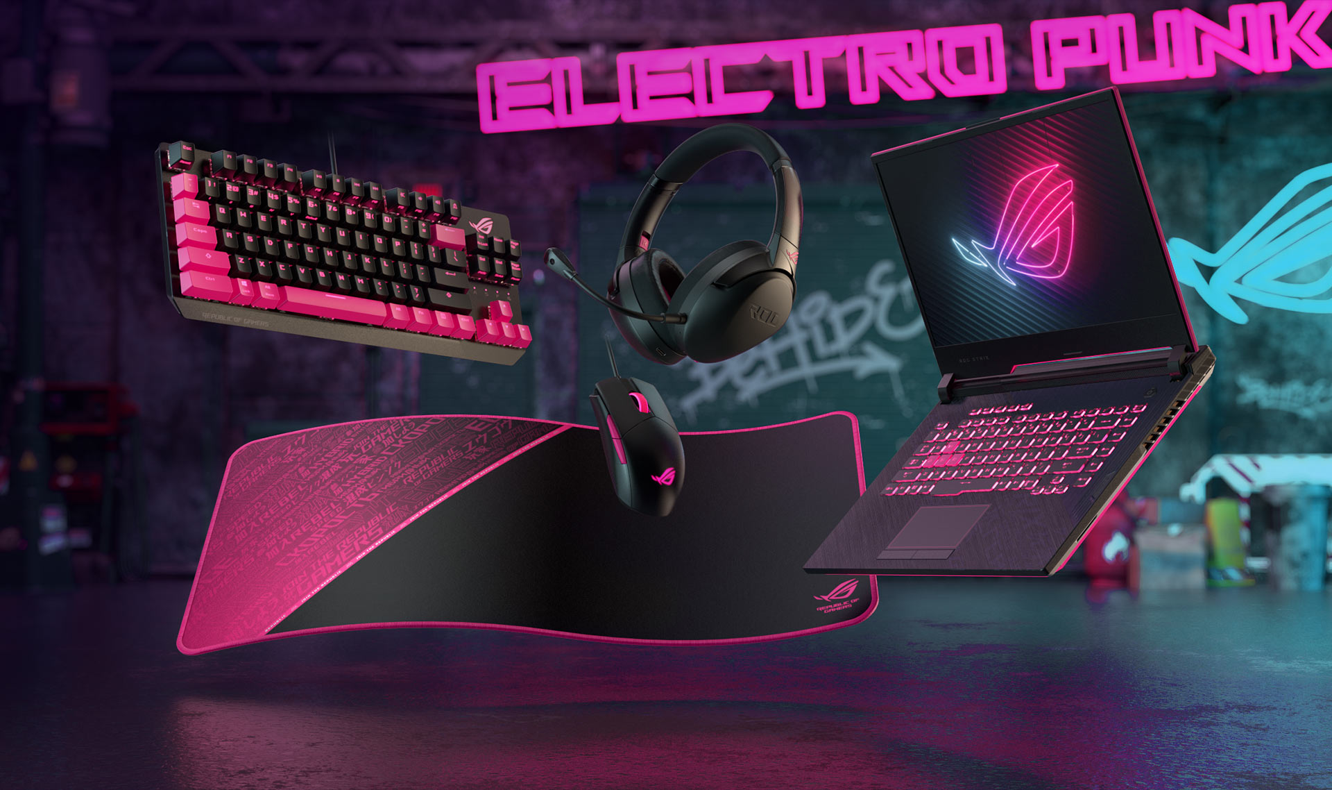 ROG Electro Punk products