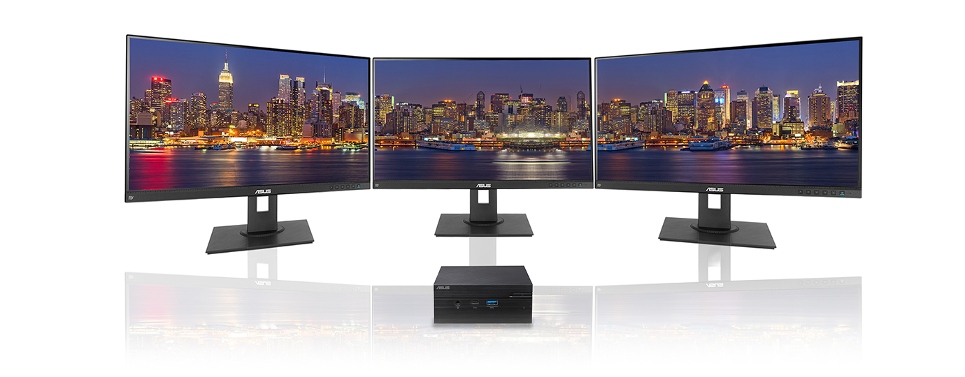 4K resolution and triple-display support