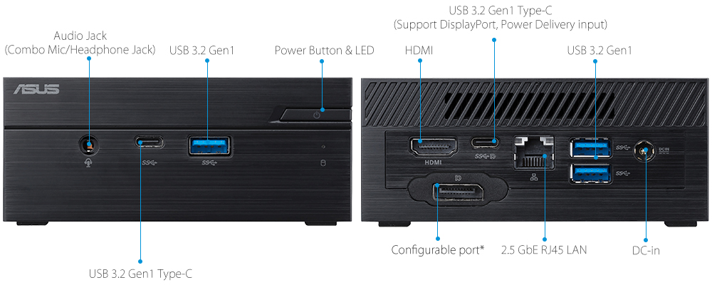 High-speed connectivity with multiple ports