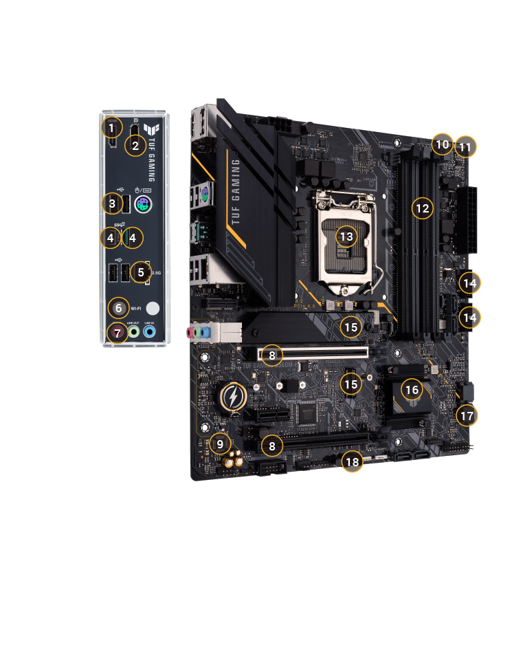 TUF B560 Plus Gaming