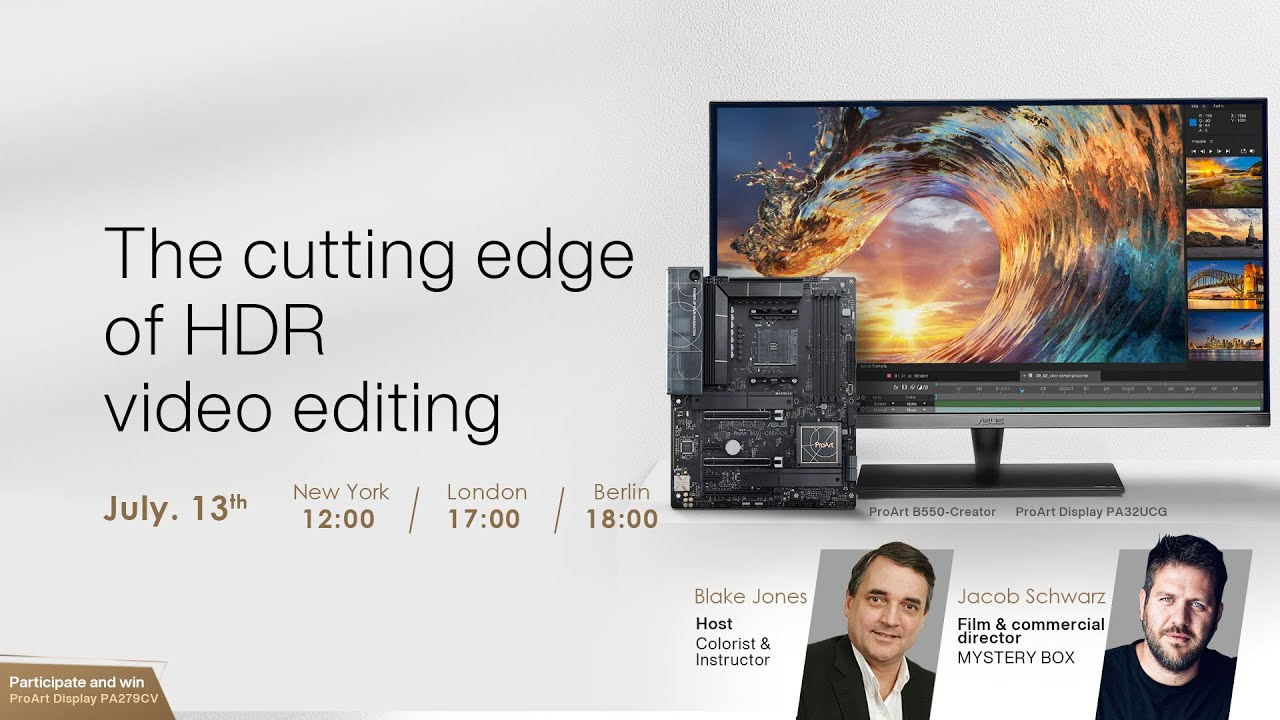 Video Cover of The cutting edge of HDR video editing