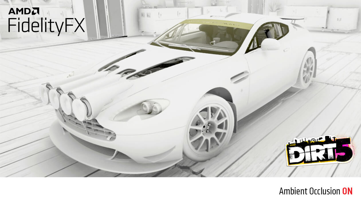 FidelityFX Ambient Occlusion AAN