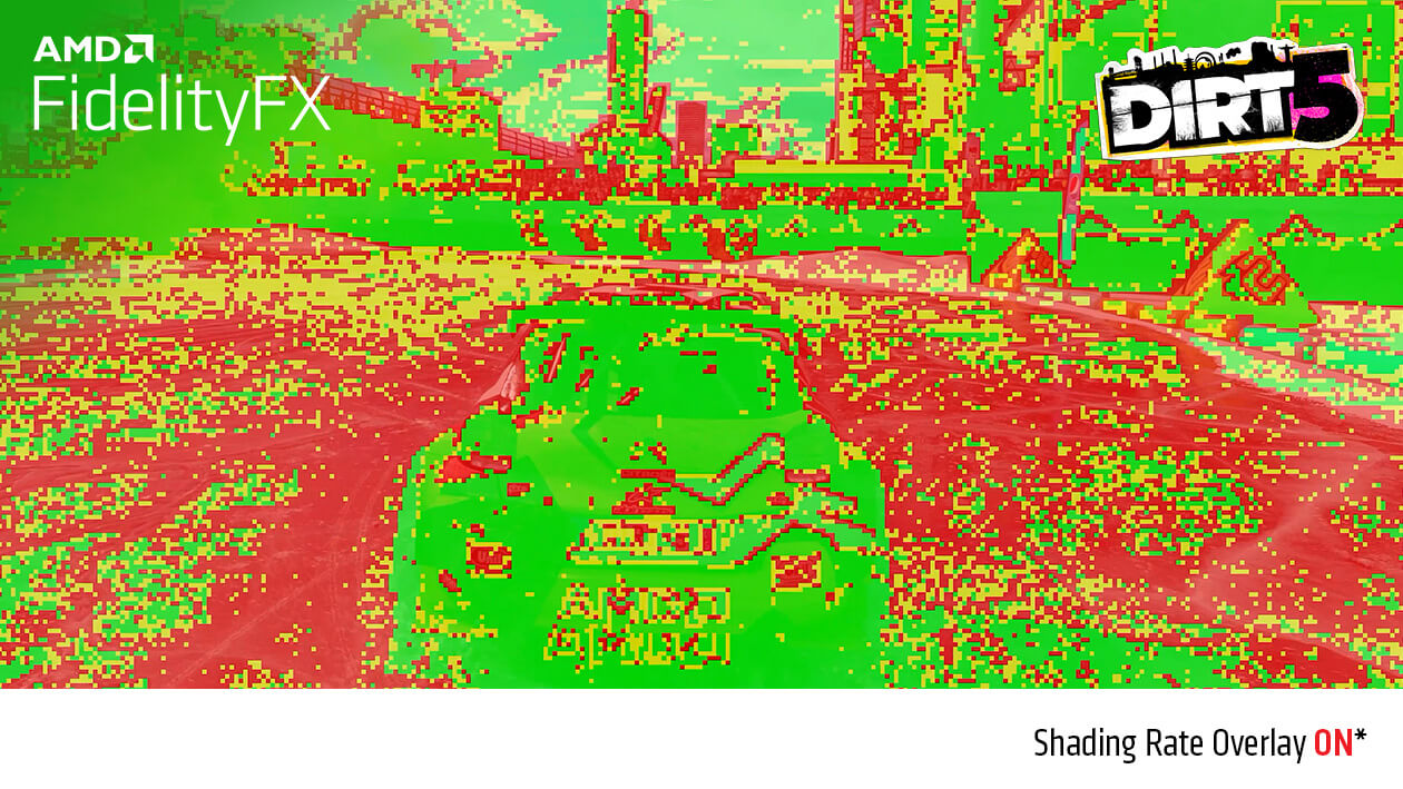 FidelityFX Variable Shading AAN