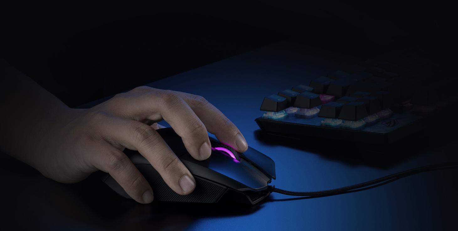 Gaming Maus ROG Chakram Core   ASUS