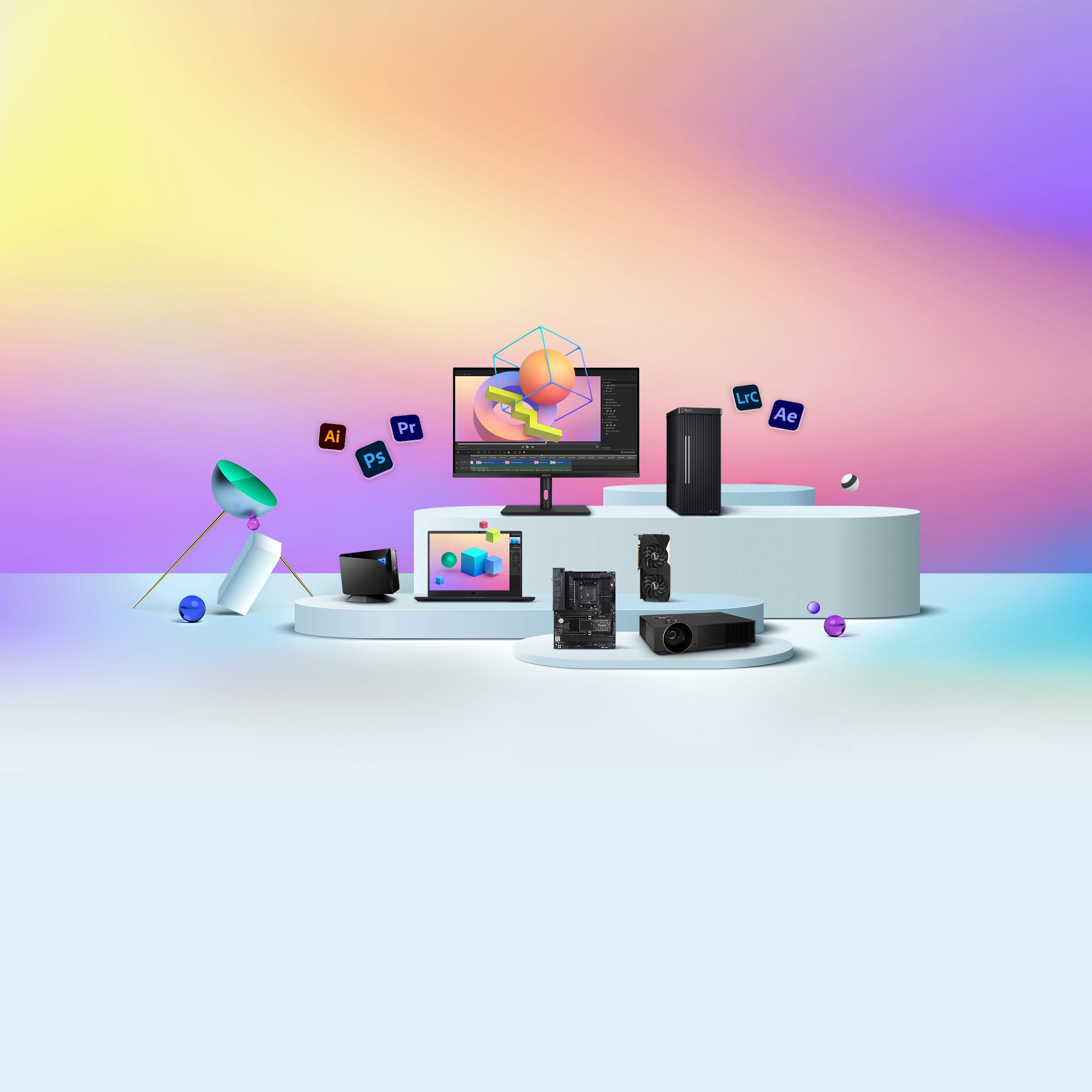 ASUS ProArt x Adobe Bundle