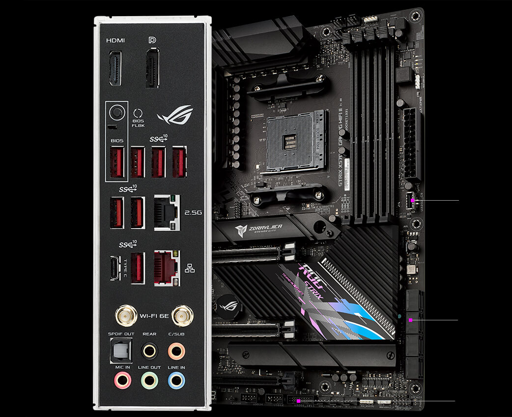 ROG Strix X570-E Gaming WiFi II