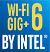 WI-FI 6 GIG+ BY INTEL®