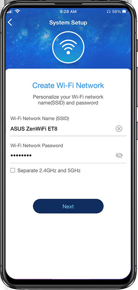 ZenWiFi ET8 setup