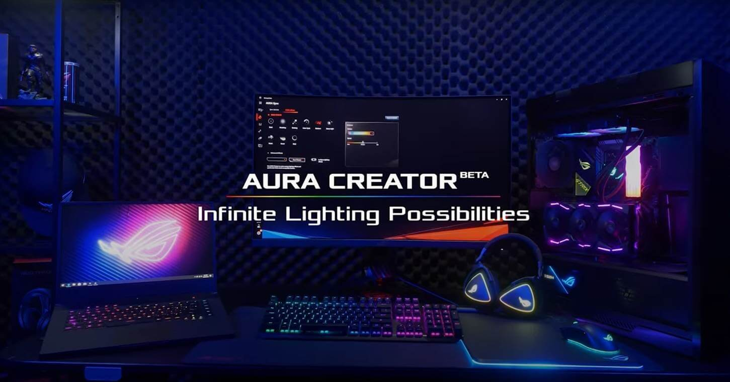 AURA CREATOR BETA - Infinite Lighting Possibilities