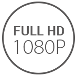 1080p FHD Recording and 120° Field of View