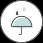 IP65 weather-resistant