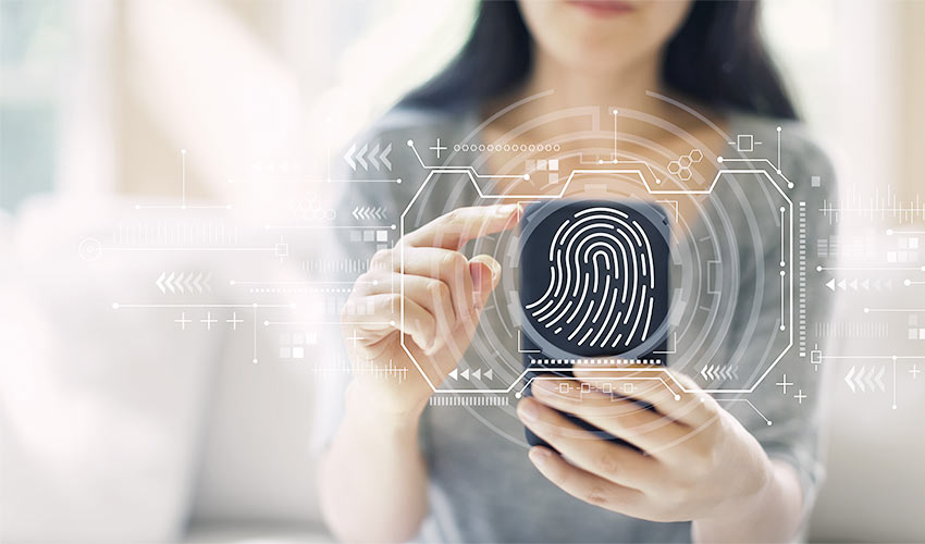 Biometric security support