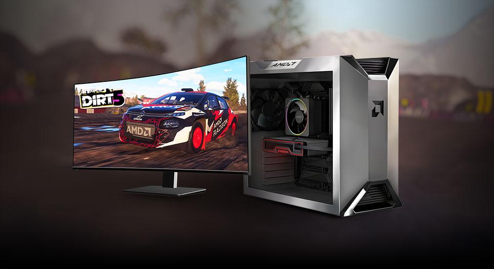 AMD Smart Access Memory Technology All AMD Performance. Gemaakt om te gamen.