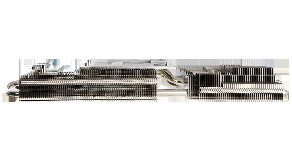 VGA ASUS RTX 3060 Ti 8GB KO OC GAMING tận dụng thiết kế 2,7 khe