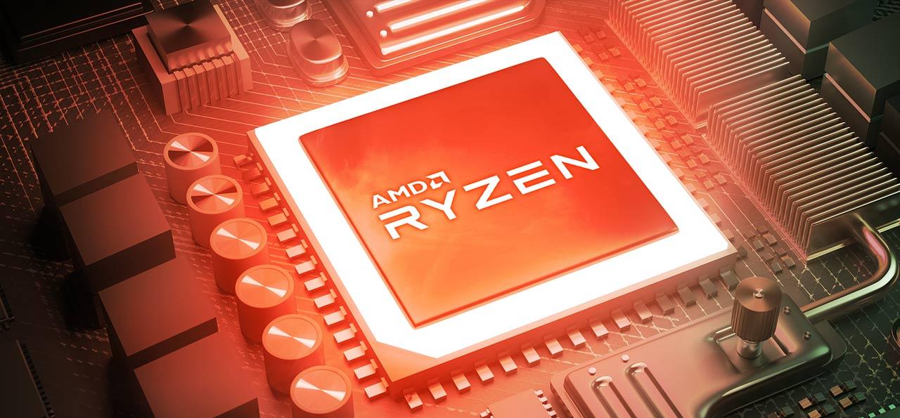 Armed with AMD® Ryzen™