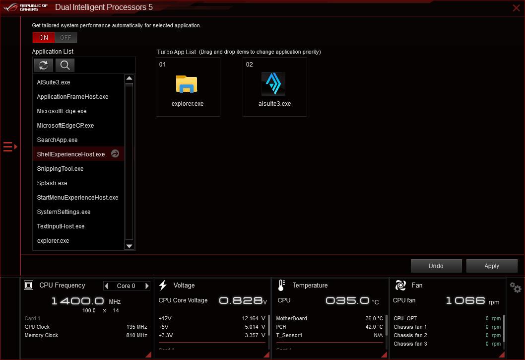 UI of Turbo App