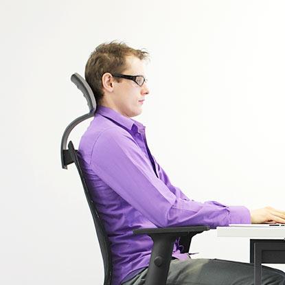 Maintain proper body posture