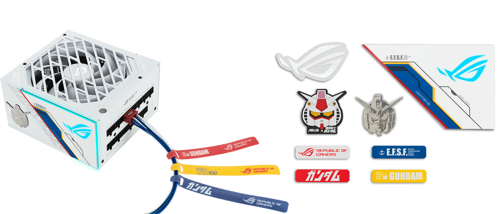 Gundam Themed Magnents Lighting Panel Stickers