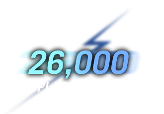 26,000 DPI Resolution
