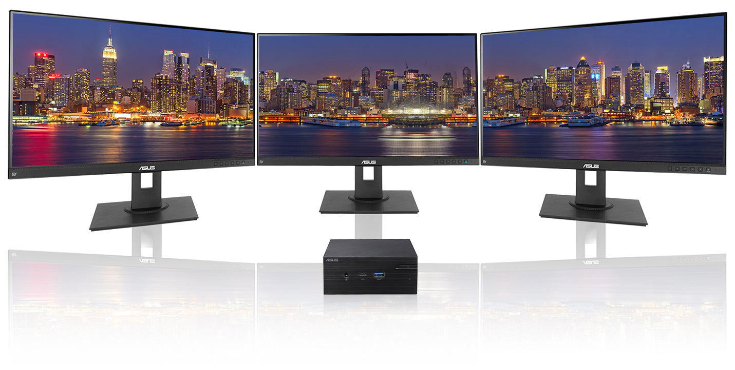 supports up to three displays with 4K UHD resolution