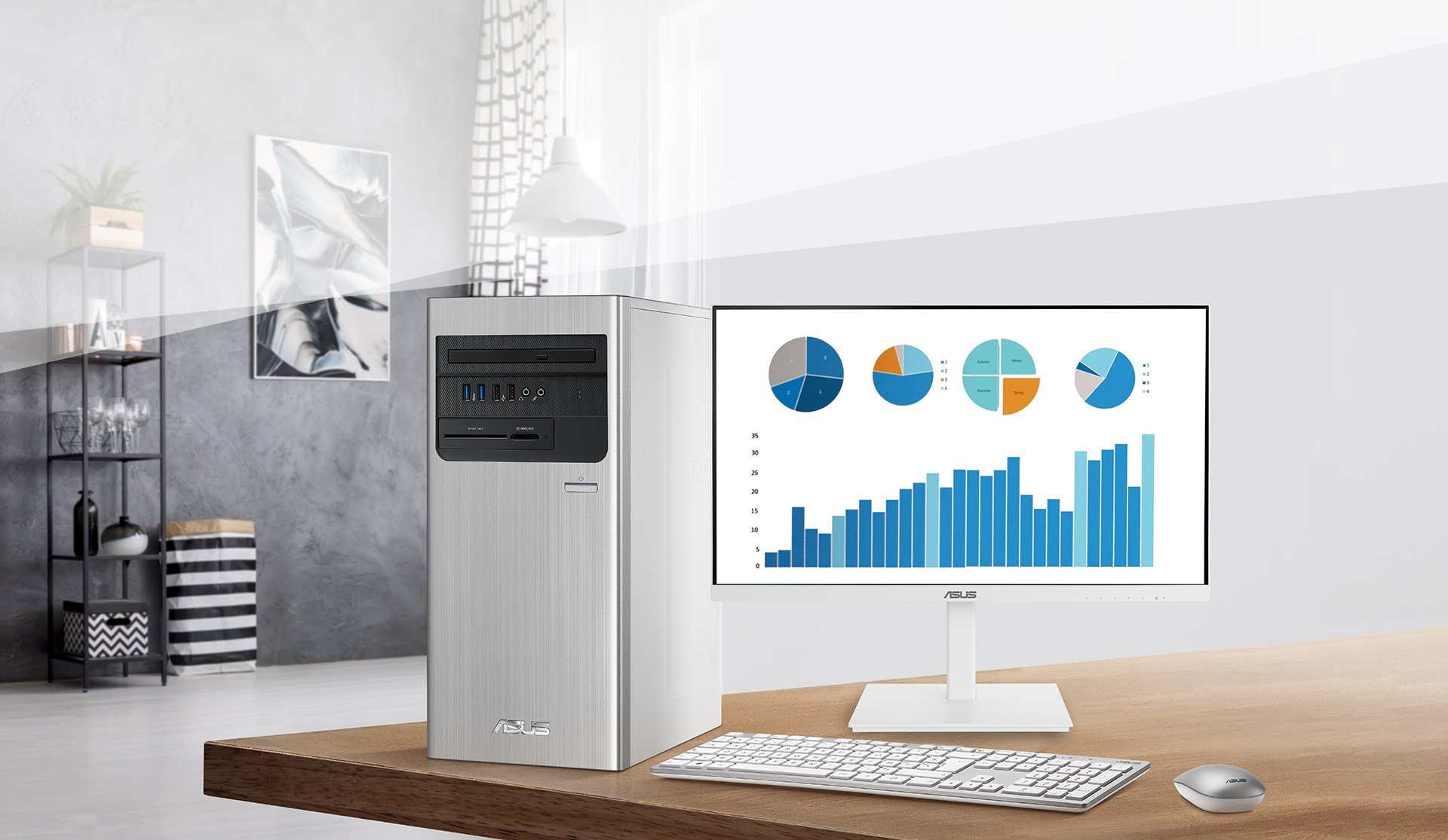 BE24EQSB is a 23.8-inch Full HD monitor that features an integrated Full HD (2MP) webcam, microphone array and stereo speakers for video conferencing and live-streaming.