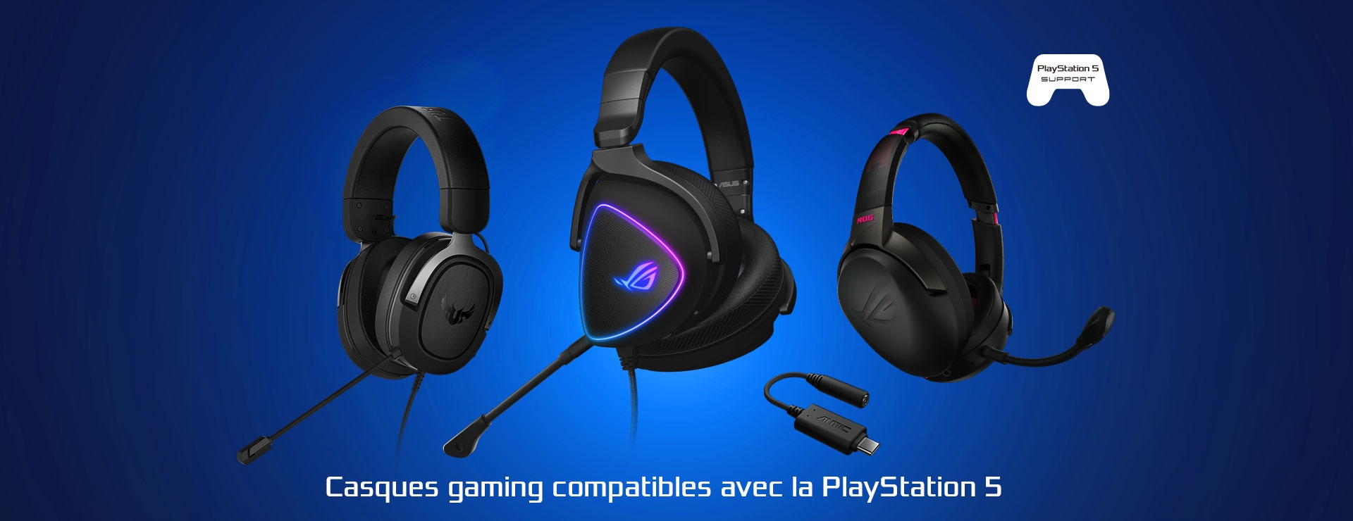 Casques gamer compatible PS5
