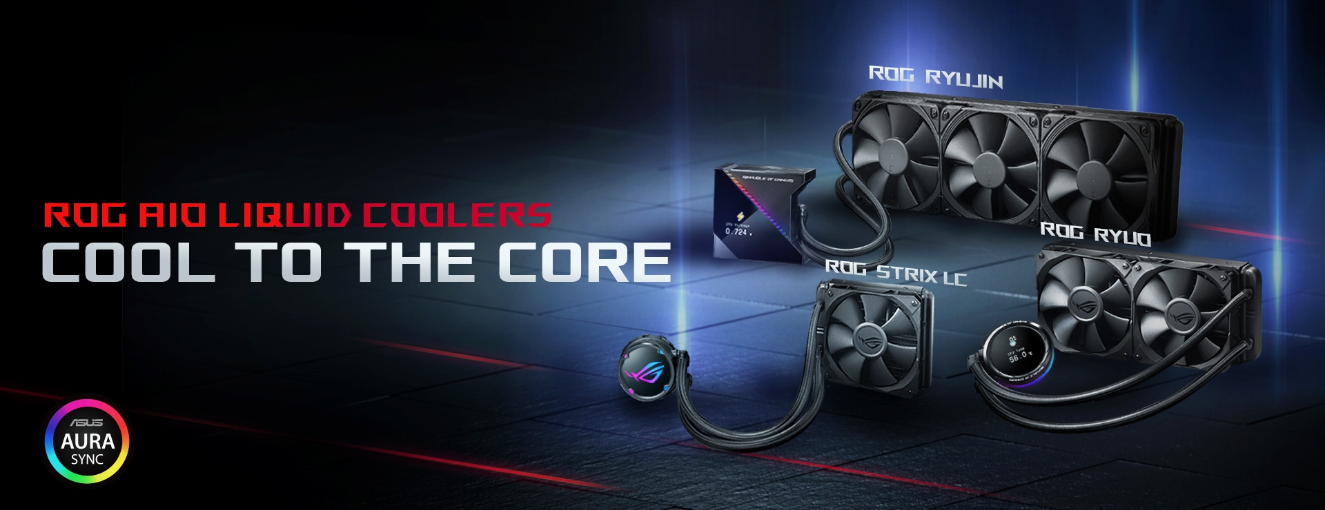 ROG AIO Liquid Coolers
