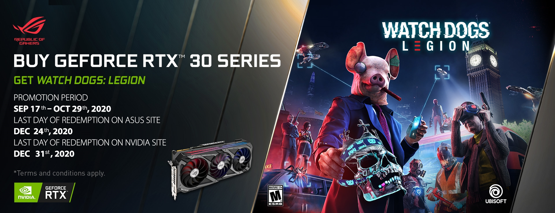The RTX 30 Series and Watch Dogs