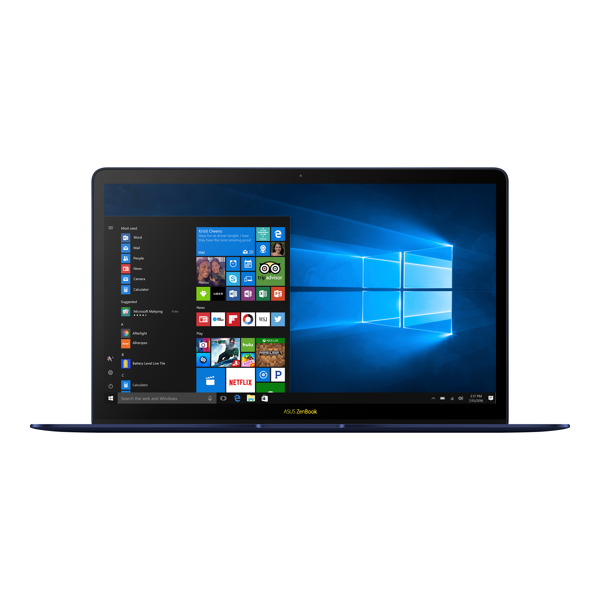 Asus Zenbook 3 Deluxe Ux490 Laptops For Home Asus Indonesia