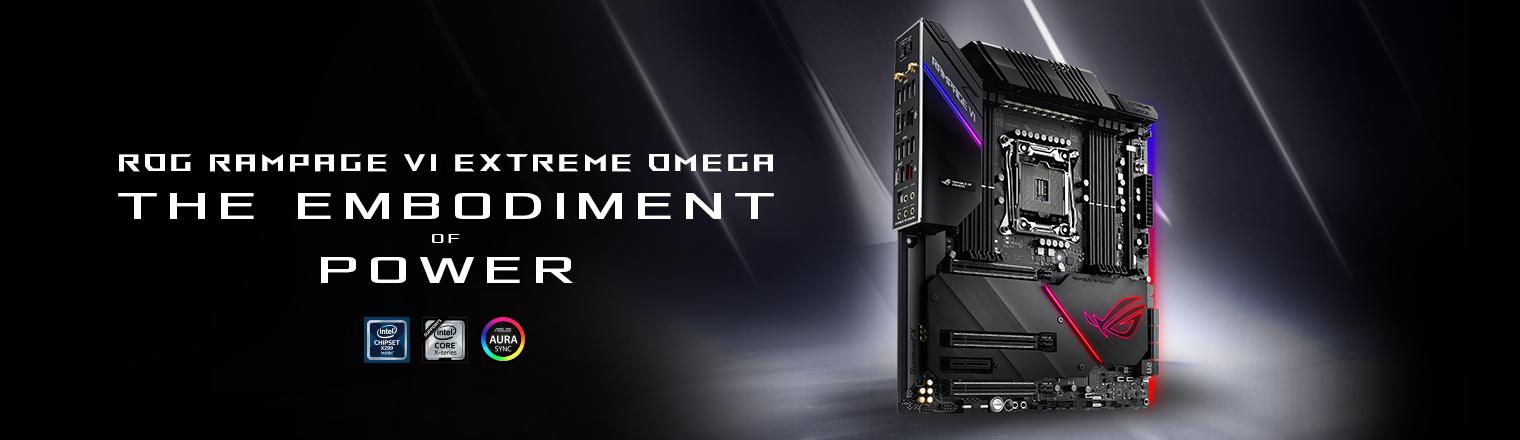 ROG Rampage VI Extreme Omega