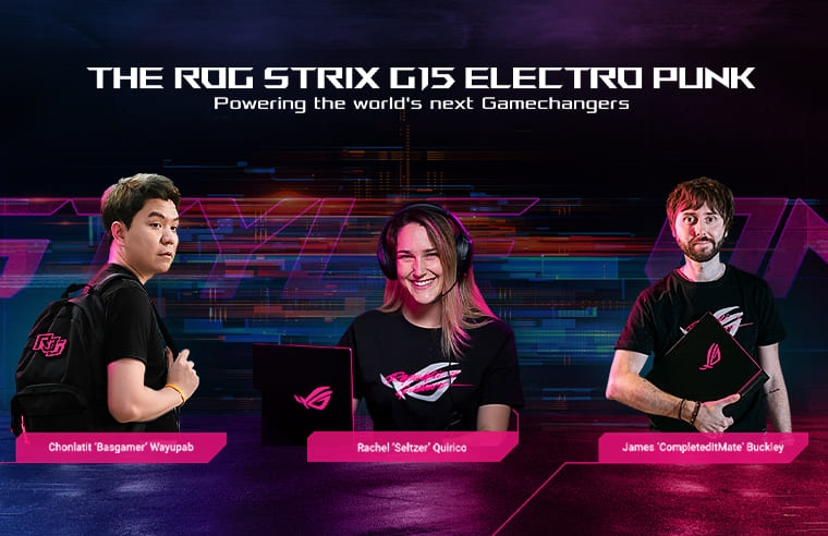 ROG Electro Punk Campaign