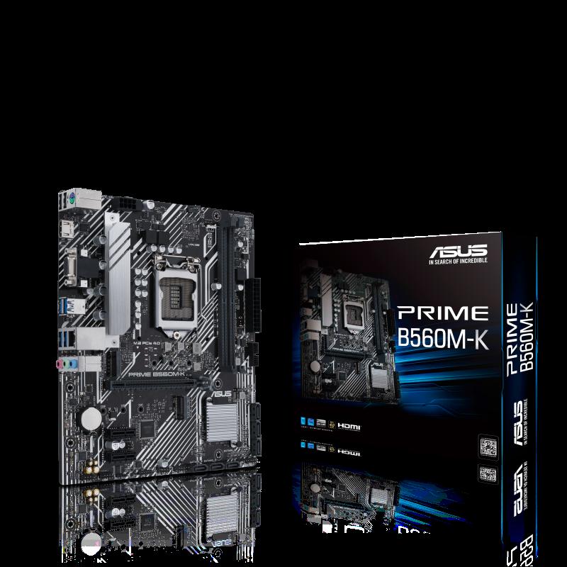 ASUS 華碩 PRIME B560M-K Micro-ATX 主機板