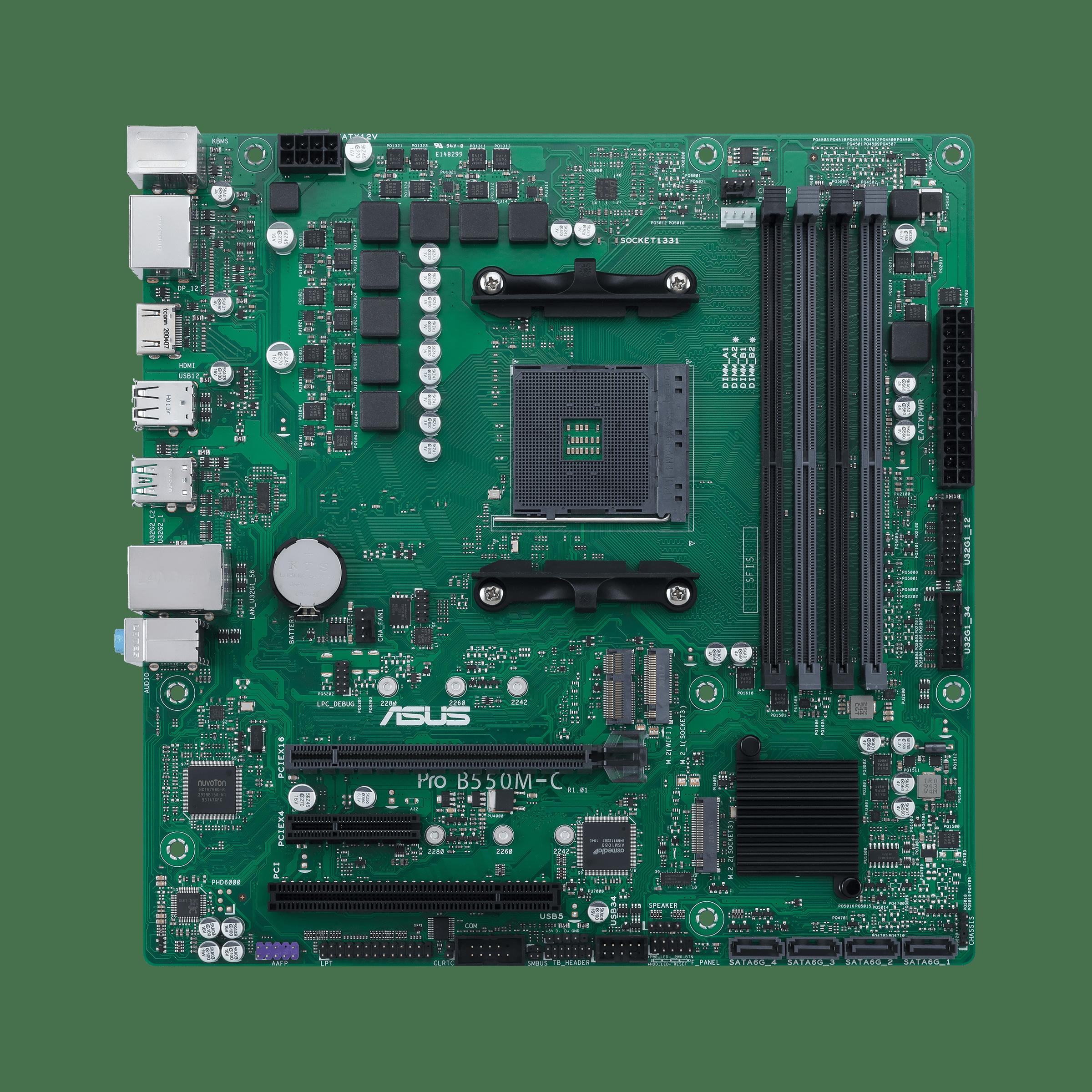 Pro B550M-C/CSM