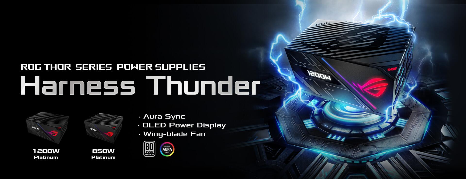 ROG Thor 1200W Platinum Power Supply Unit