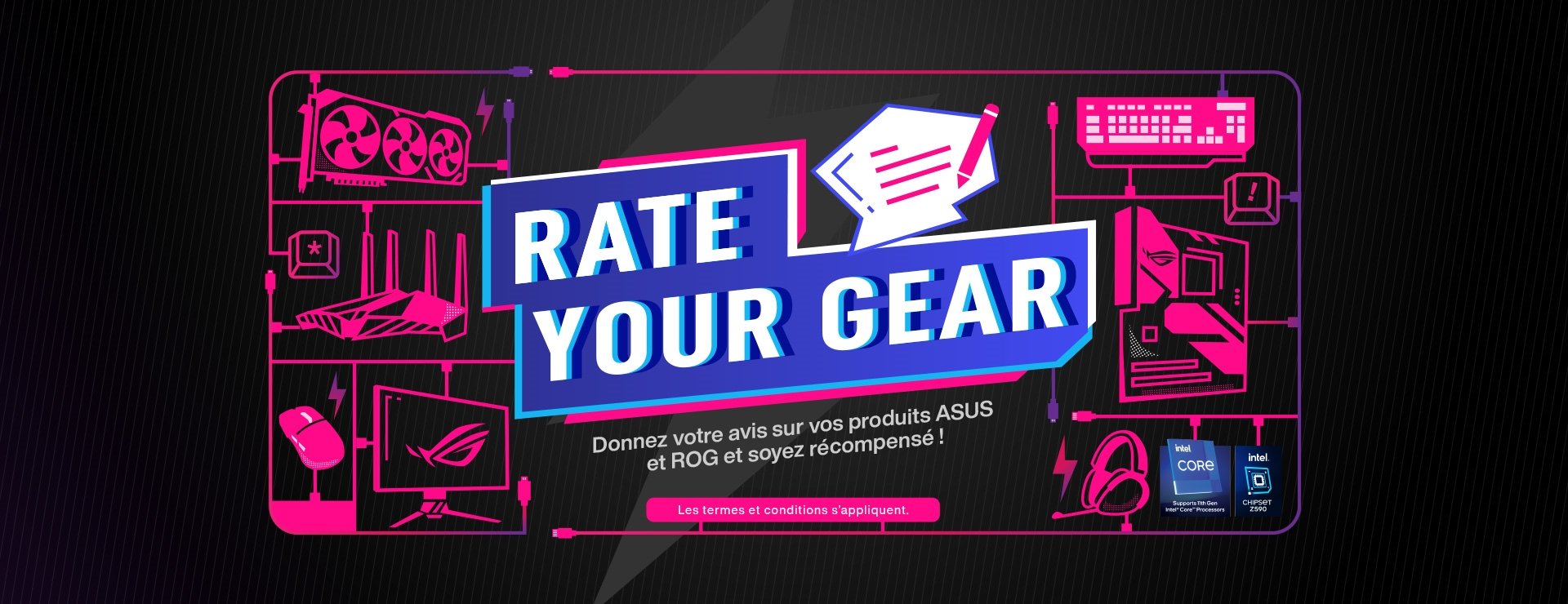 Rate your gear asus rog