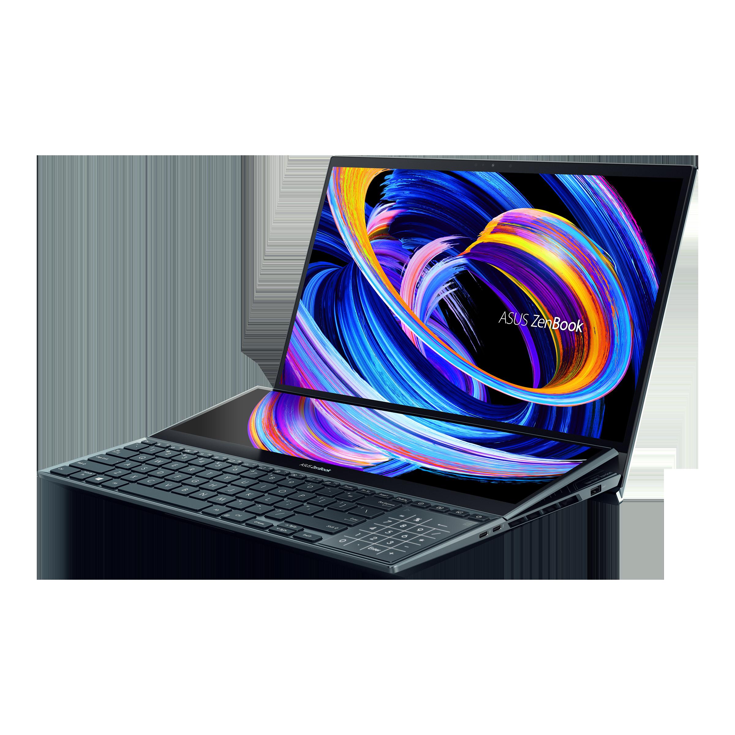 ZenBook Pro Duo 15 OLED (UX582) Laptops For Creators ASUS Global