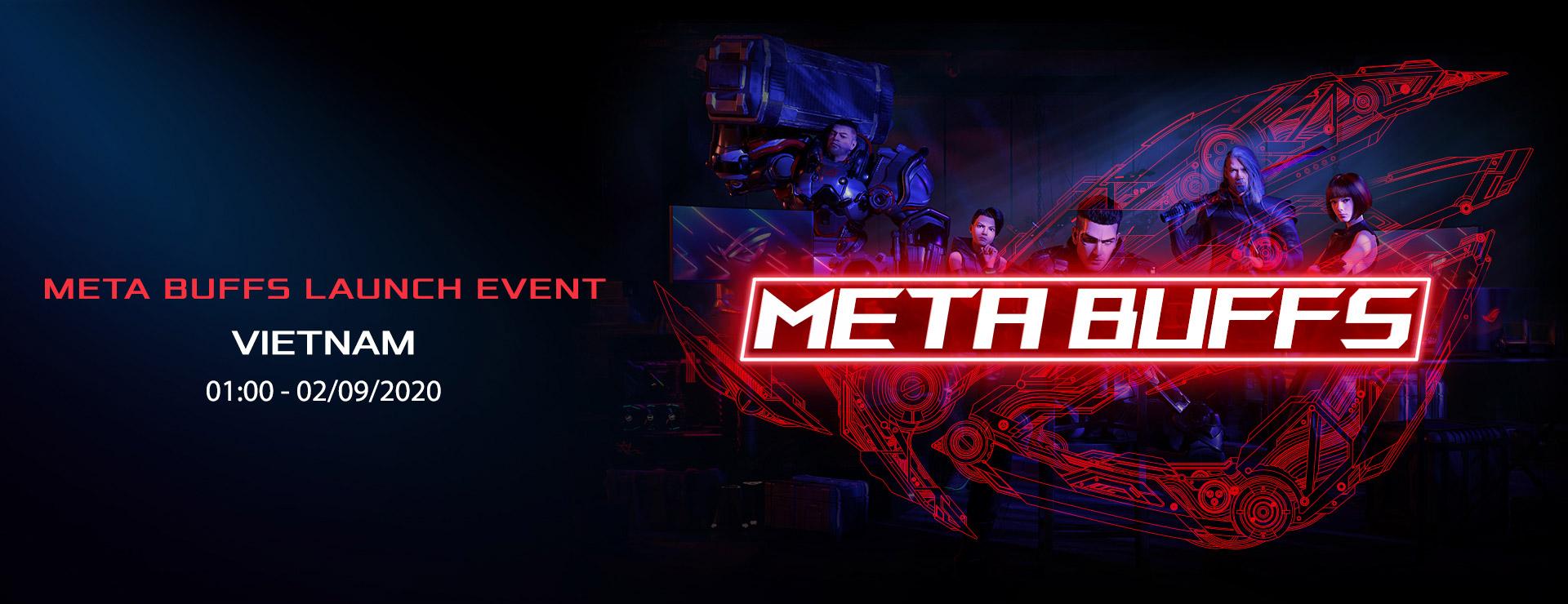 META BUFFS LAUNCH EVENT