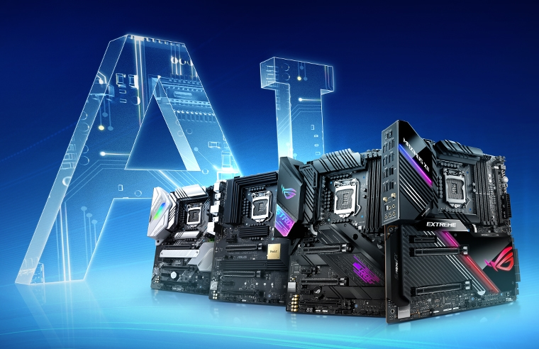 ASUS Z490 Series- AI Motherboards