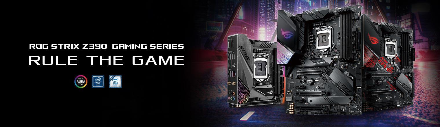 ROG Strix Z390 Gaming Series