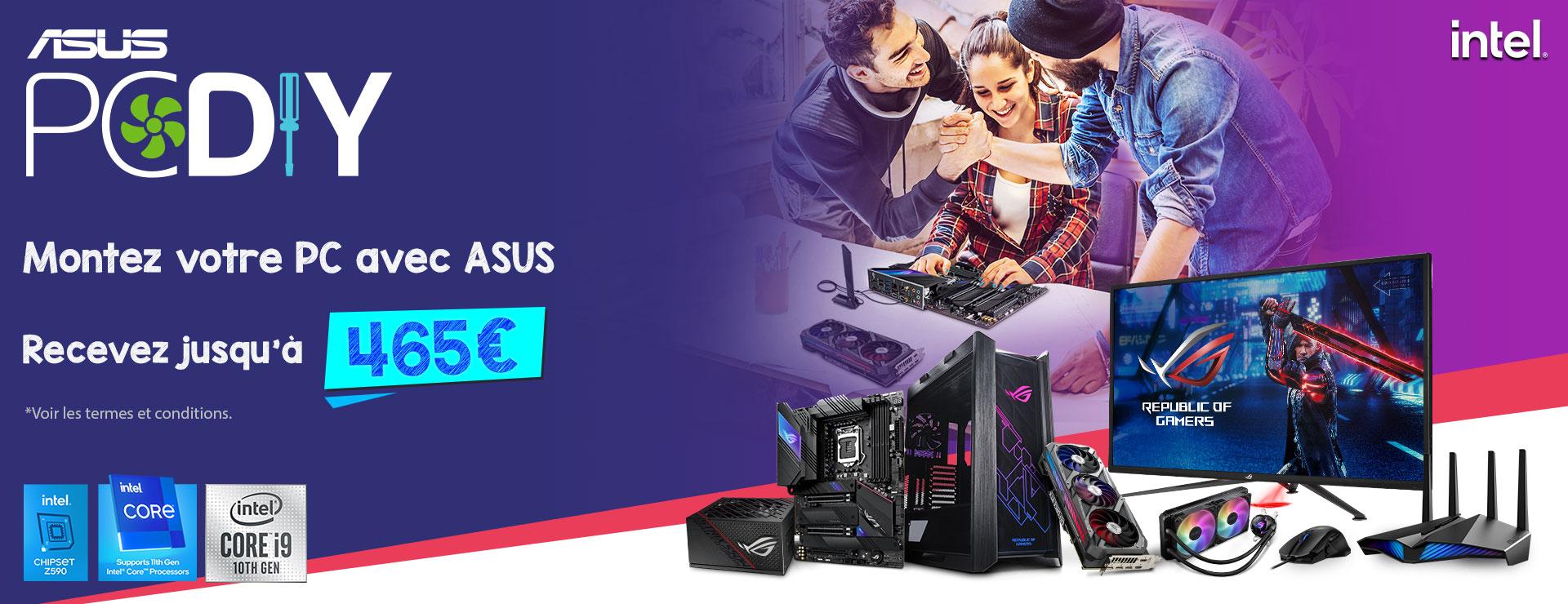 Achetez un produit ASUS Gaming éligible et gagnez jusqu'à 465 €