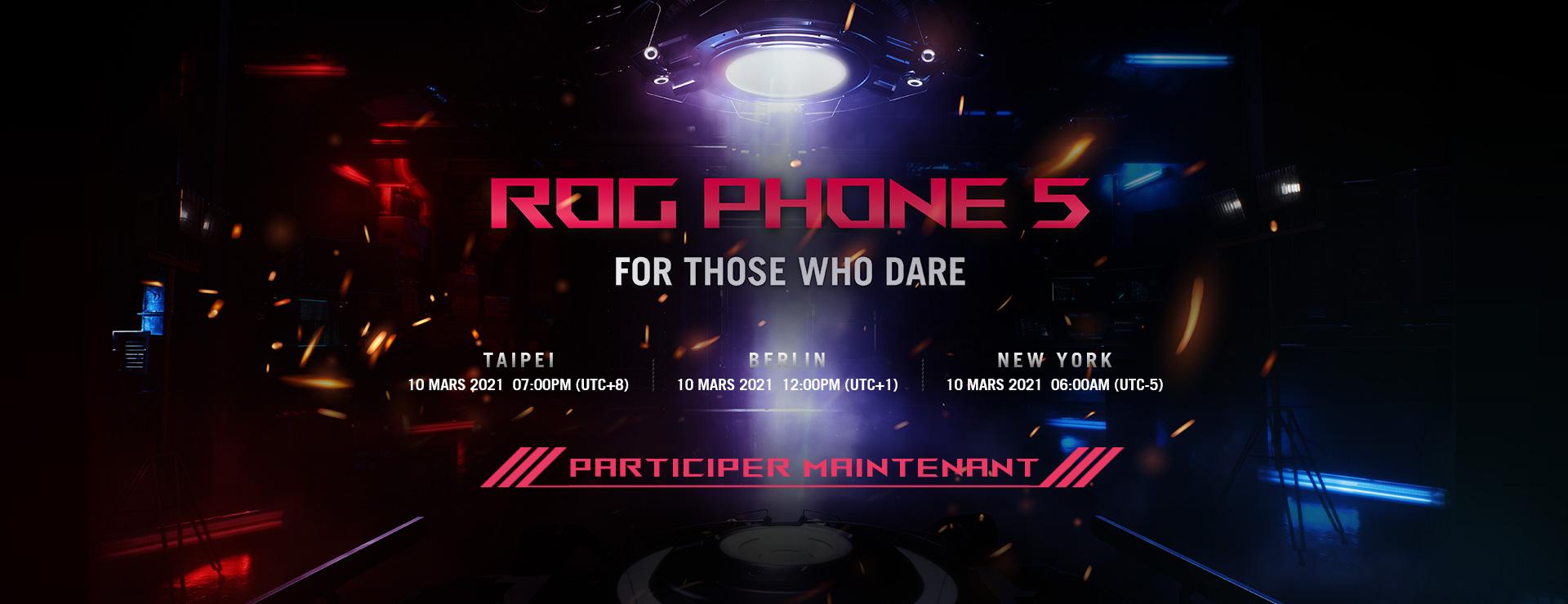 ROG Phone 5 Event