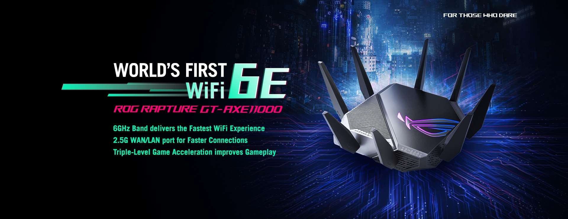 ROG Rapture GT-AXE11000