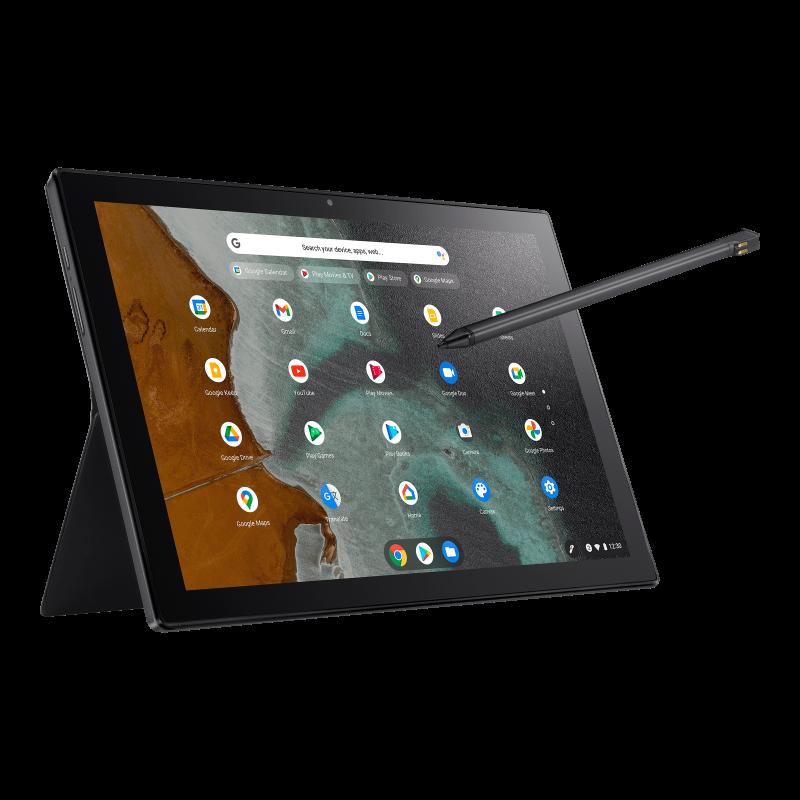 ASUS Chromebook Detachable CM3 with garaged stylus