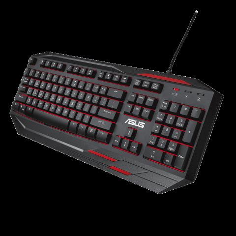 ASUS Sagaris GK100 Backlit Gaming Keyboard
