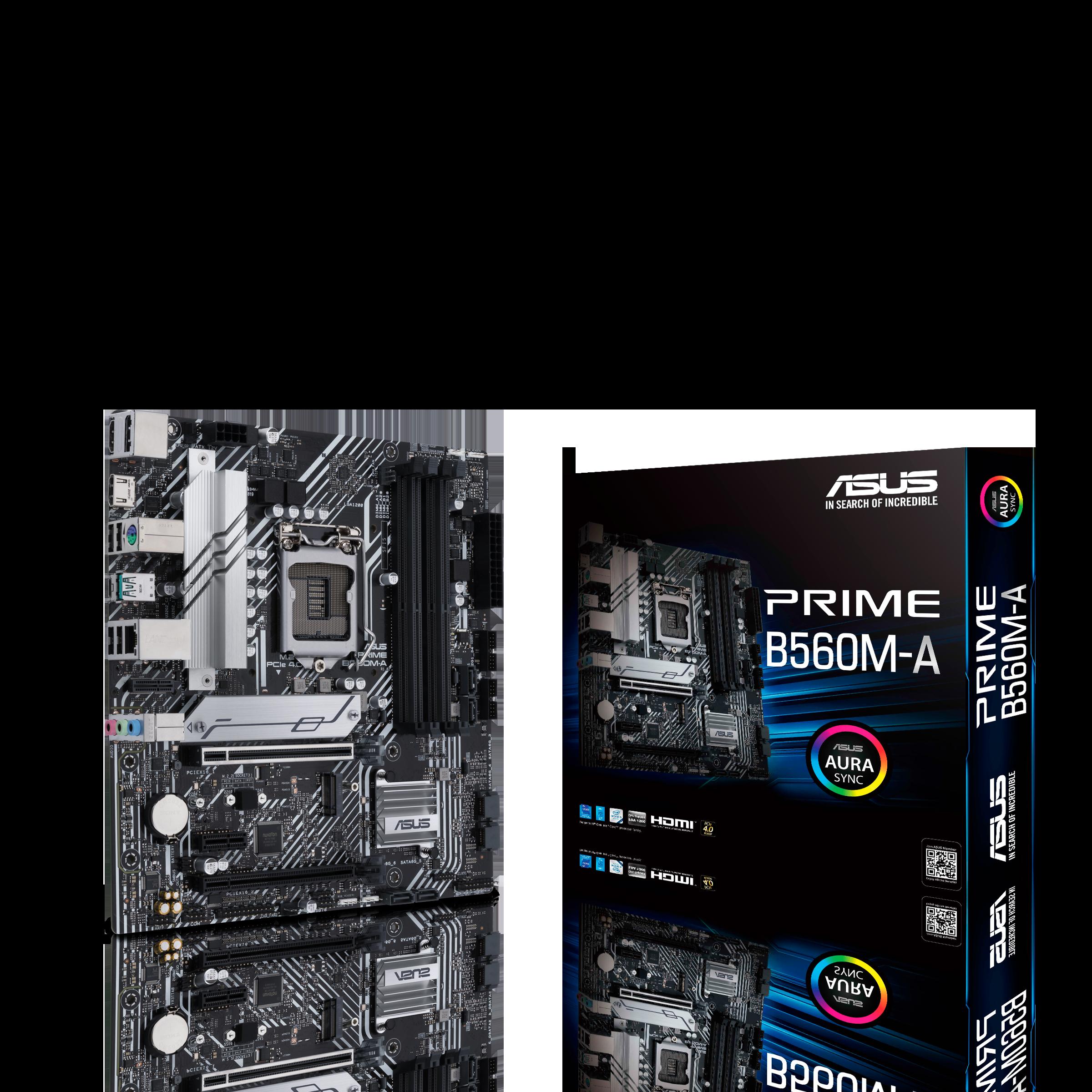 ASUS 華碩 PRIME B560M-A Micro-ATX 主機板