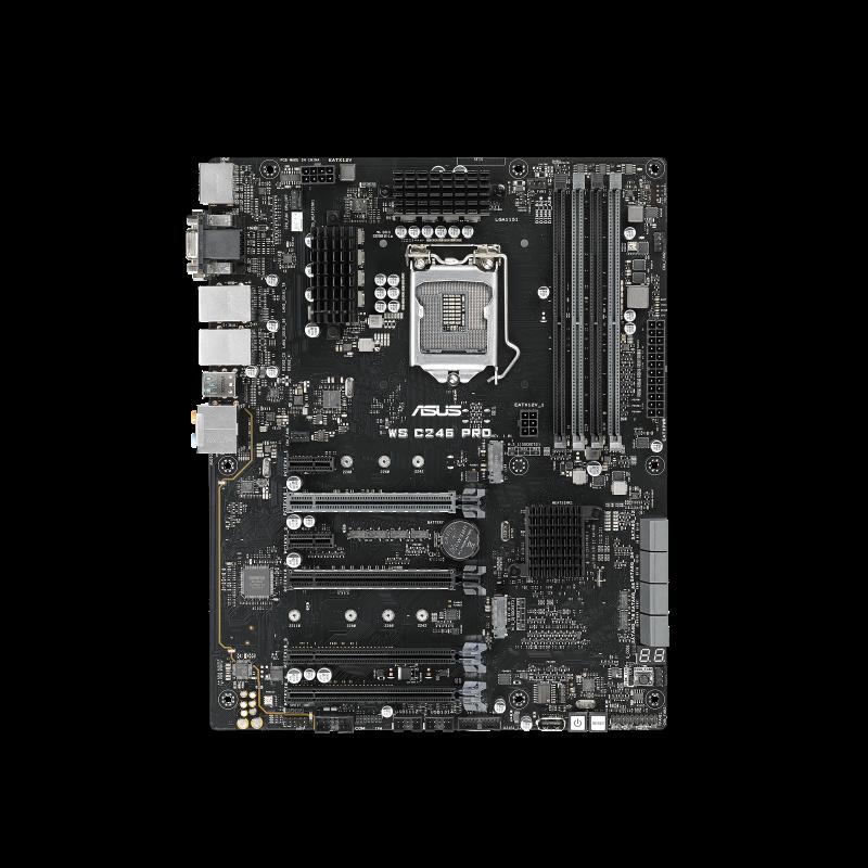 WS C246 PRO carte mère ATX  LGA1151 ATX
